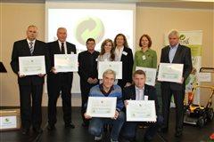ocenenie - triedenie odpadu 2015